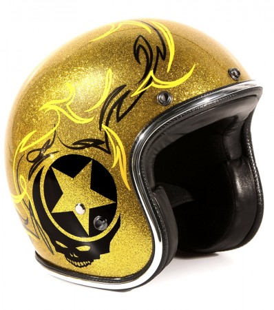 il casco HB Skull on Shine